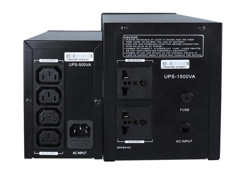 Prostar offline UPS rear panel