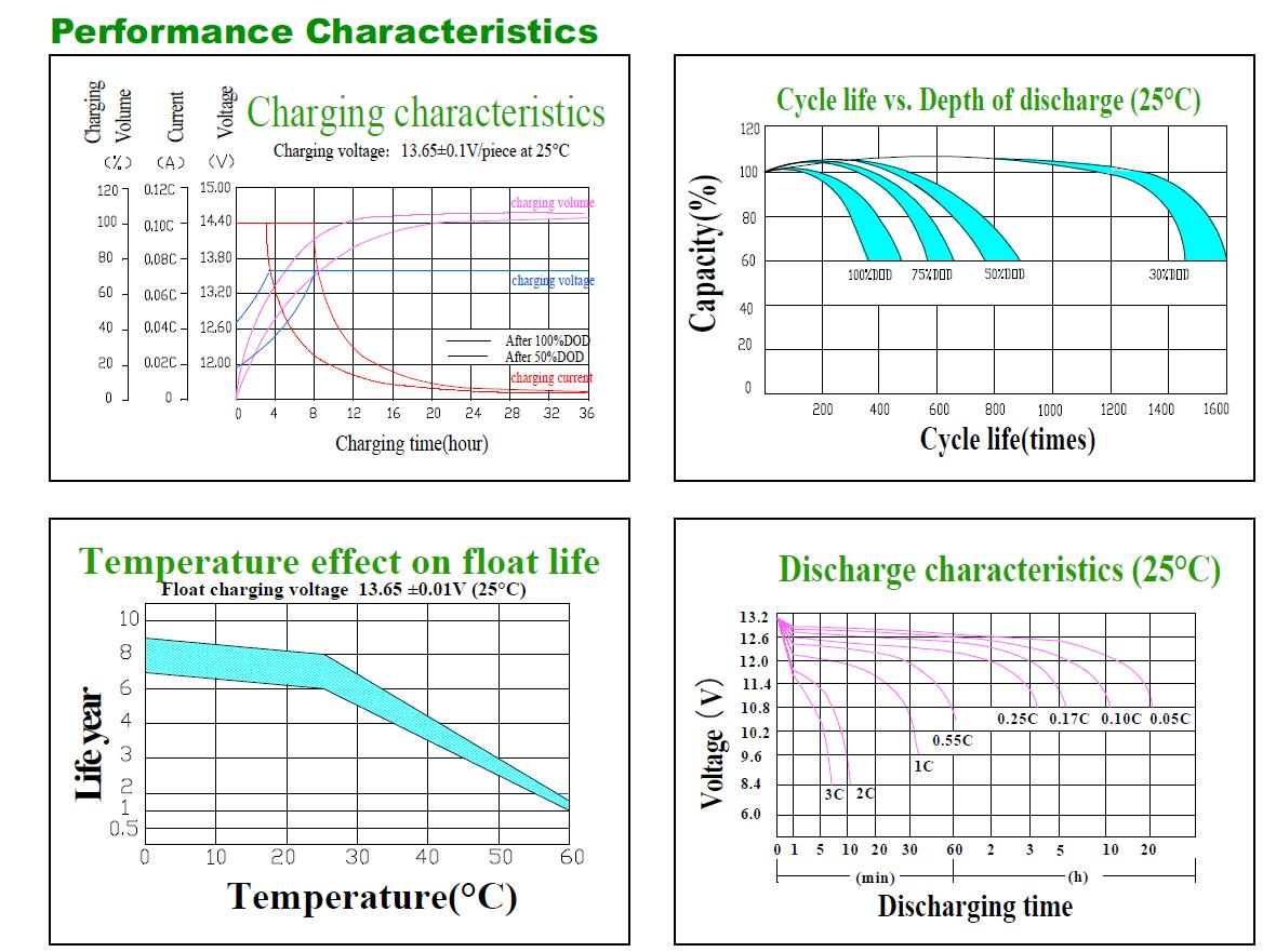 battery performance characteristics