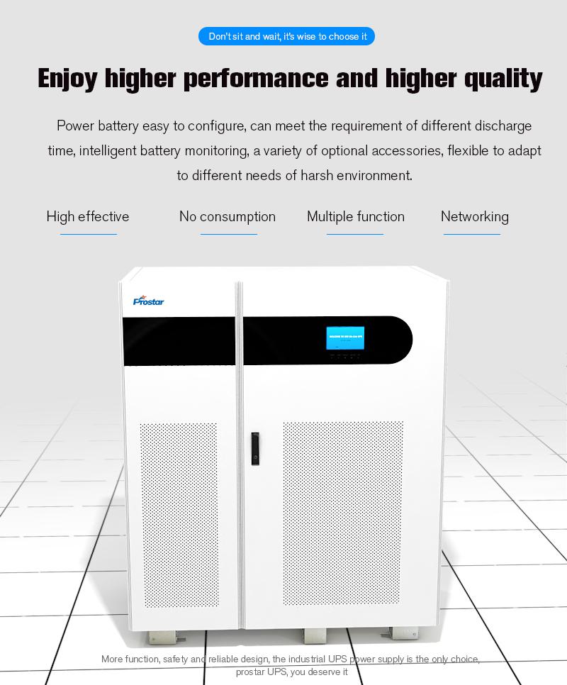 Prostar Neptune 31 Online UPS 80KVA-100KVA Performance