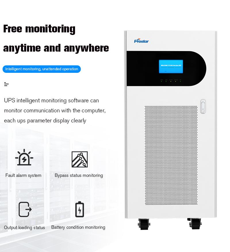 Prostar Neptune 31 Online UPS Monitoring