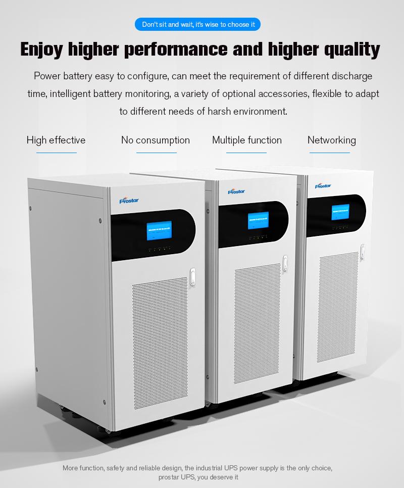 Prostar Neptune 31 Online UPS Performance