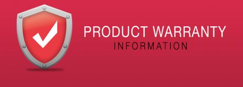 Product Warranty Information